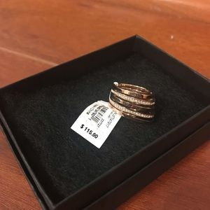 NWT MICHAEL Michael Kors Gold Ring
